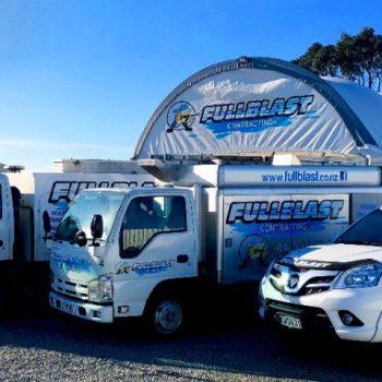 Fullblast Contracting Ltd vehicle fleet