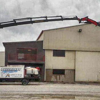 Fullblast Contracting Ltd water blasting